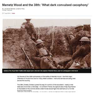 mametz wood and the 38th