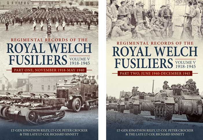 Official records, royal welch fusiliers